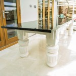 Granite Top Dining Table