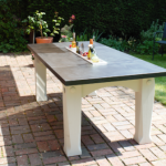 Outdoor Slate Table