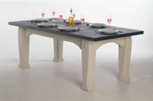 slate kitchen table