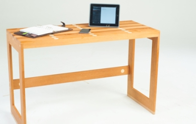 Designer desk without light