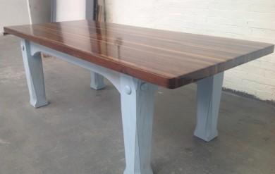 Wood Top Dining Table