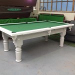 remodelled pool table