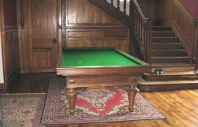 Caromboule Table restored in France