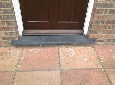 Bespoke Slate Doorsteps By Slate Furniture Works