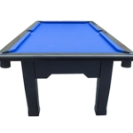 Dining room pool table black legs