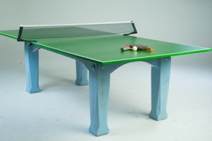 Dining room table tennis slate table