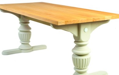 Pedestal Style Refectory Table