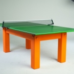 Slate games room table with table tennis top
