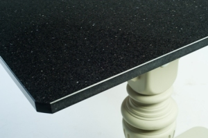 Twin Pedestal Style table with granite top